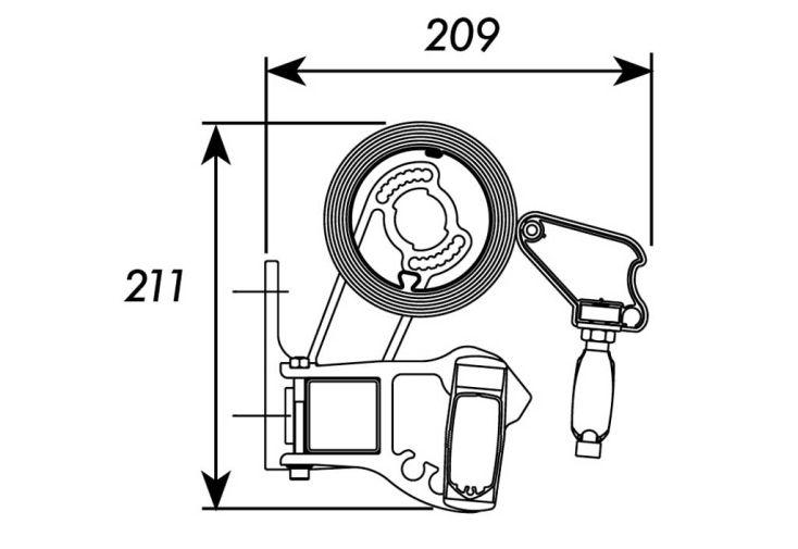 store banne 4x3 monobloc moteur t l cde techsun. Black Bedroom Furniture Sets. Home Design Ideas