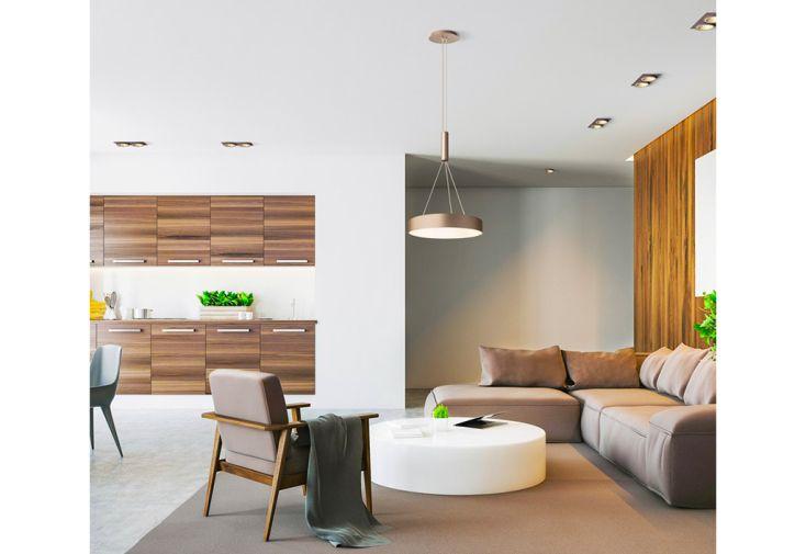 Suspension LED Rendl Light Studio Larisa R30 dans Salon