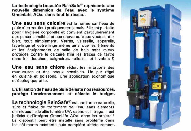 Système de Production d'Eau Potable AQA