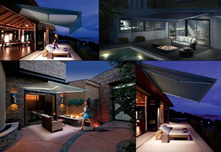 Système d'Eclairage Lumina LED pour Store Banne Hermès de 3,25m