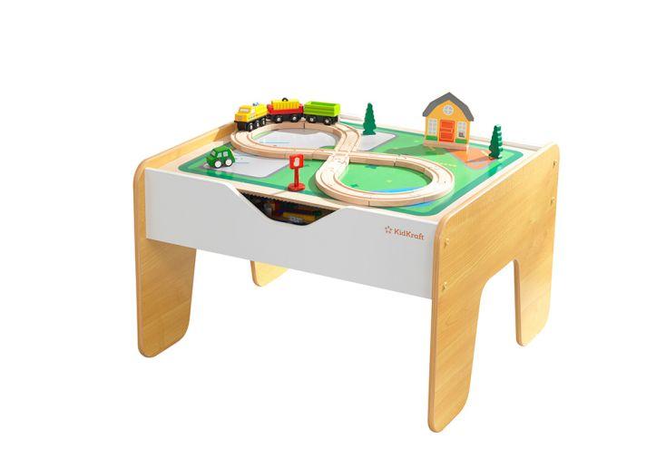 Table de jeu pour enfants avec double face