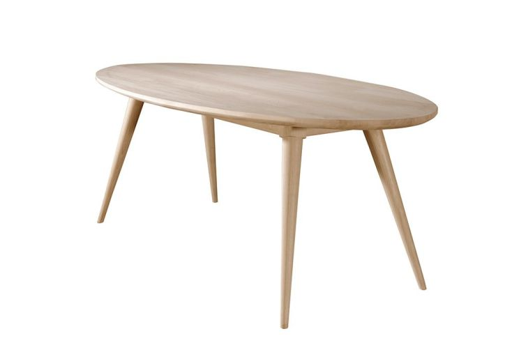 Table ovale en ch ne in s wewood wewood for Table ovale chene massif