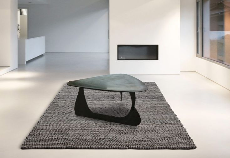 table basse en acier noir made in France