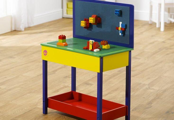 Table de Construction en Bois pour Enfants