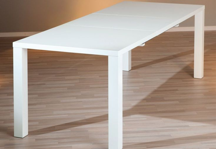 Salle a Manger : Table Extensible Ottawa 160/220x90 cm + 6 Chaises