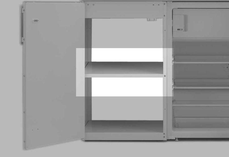 Etagère 50 cm Coloris Blanc pour Placard Kitchenette