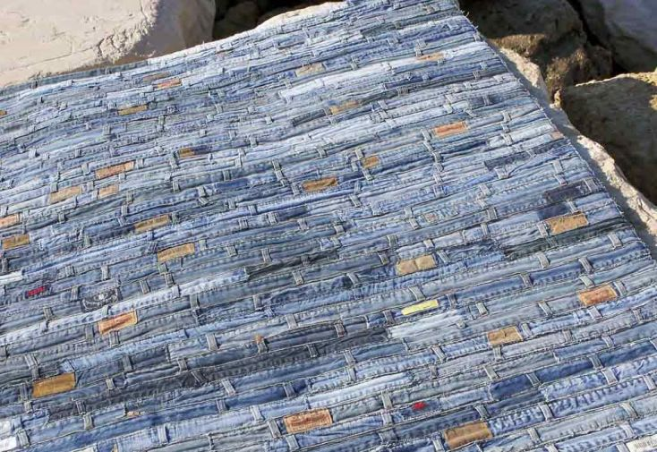 Tapis en Jean Belt (140x200 - 170x240 - 200x300cm)