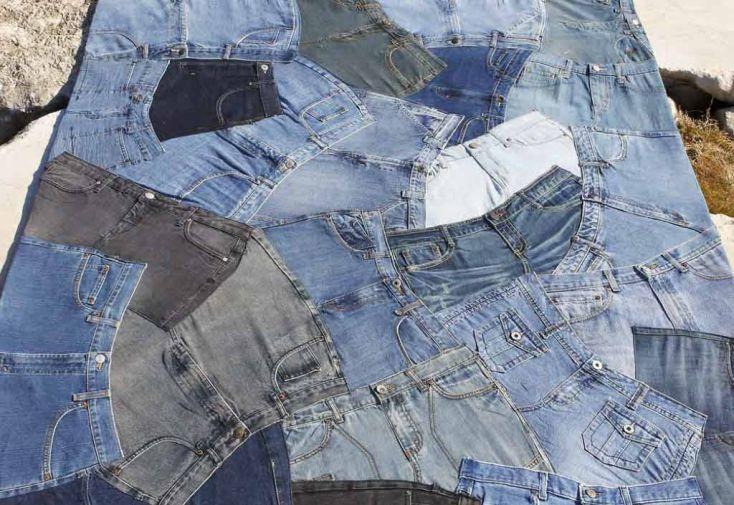 Tapis en Jean Front (140x200 - 170x240 - 200x300cm)