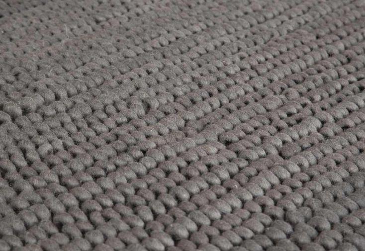 Tapis en Laine de Nouvelle-Zélande Boucle 70x140cm (4 coloris)