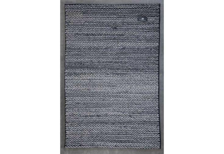Tapis en Laine de Nouvelle-Zélande Cable 170x240cm (4 coloris)