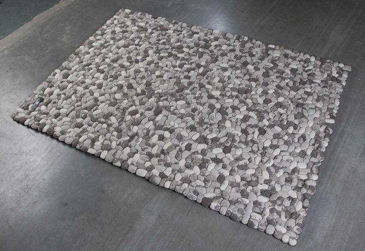 Tapis en Laine de Nouvelle-Zélande Pebble 70x140cm