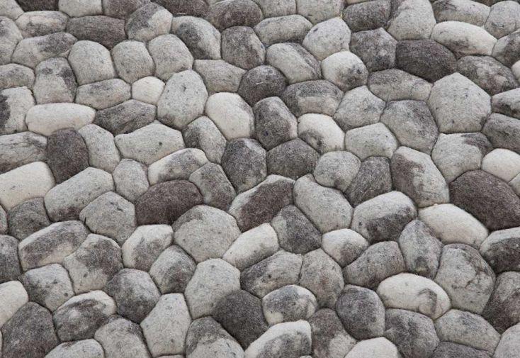 Tapis en Laine de Nouvelle-Zélande Pebble 120x180cm