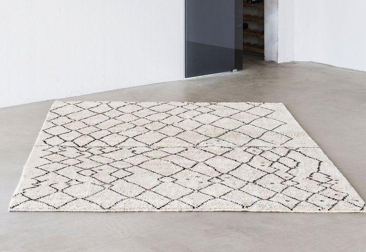 Tapis en Laine de Nouvelle-Zélande Marrakesh 80 x 200 cm