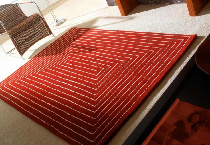 Tapis en Laine Tridimensionnel 170x240cm (3 coloris)