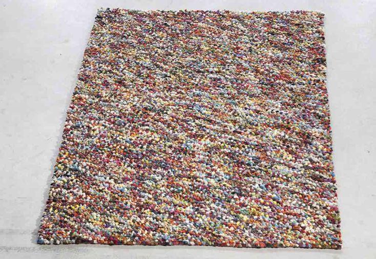 Tapis en Laine de Nouvelle-Zélande Pixel 70x140cm