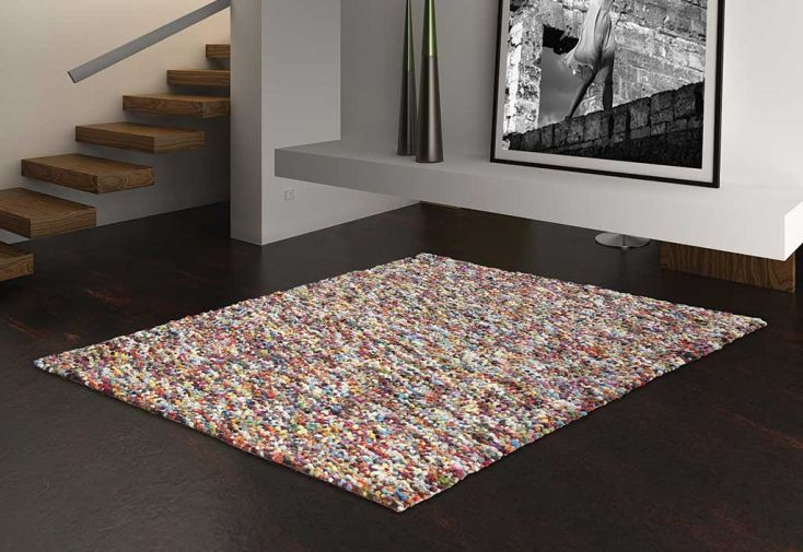 Tapis en Laine de Nouvelle-Zélande Pixel 200x300cm