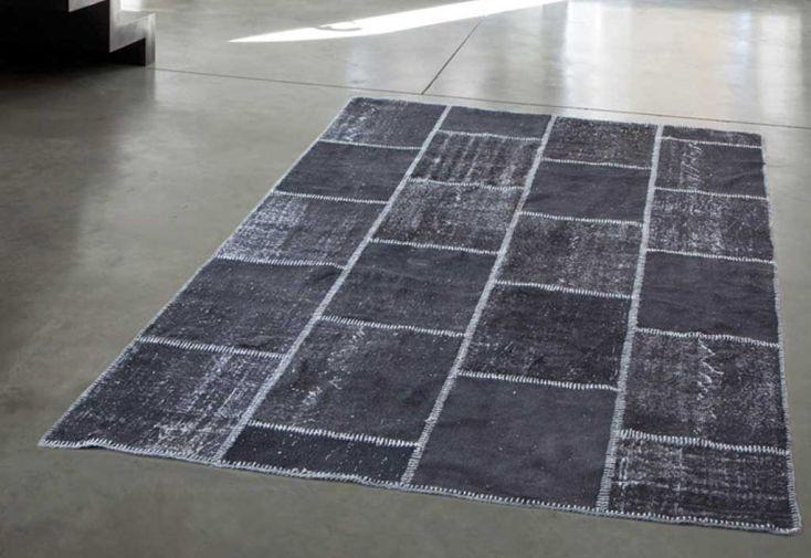 Tapis en Laine Super Patchwork 160x240cm (9 coloris)