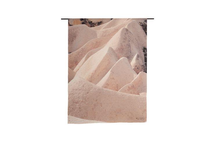 Tapisserie murale dune rose effet nature