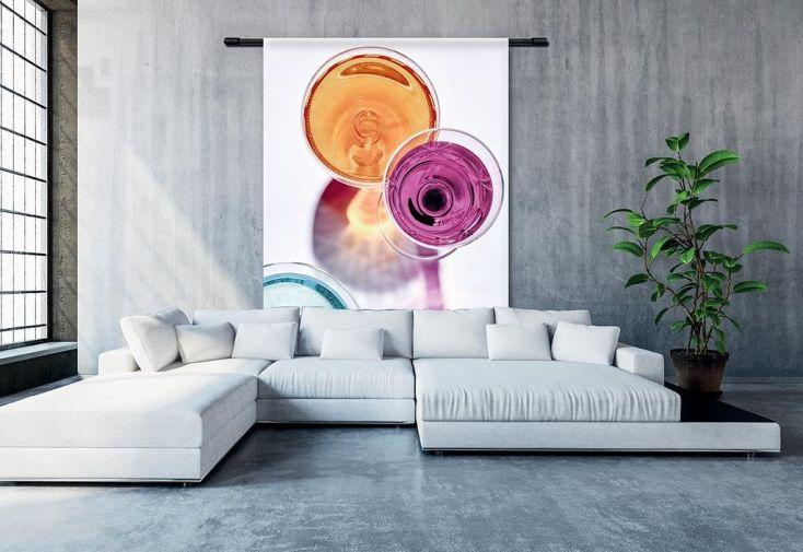 Couverture Murale Design en Coton Bio Summer