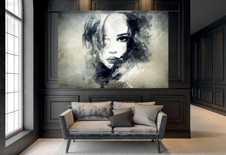Tenture Murale Design en Coton Bio The Look