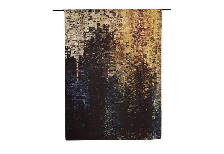Tenture Murale Décorative en Coton Bio Drops Tissu