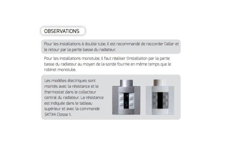 Sèche-Serviettes Electrique Design Astor (1200x500mm)