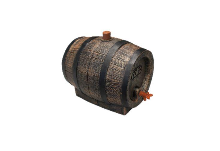 Tonneau à Vin Cuve de Stockage en Polyéthylène 10 L Roto