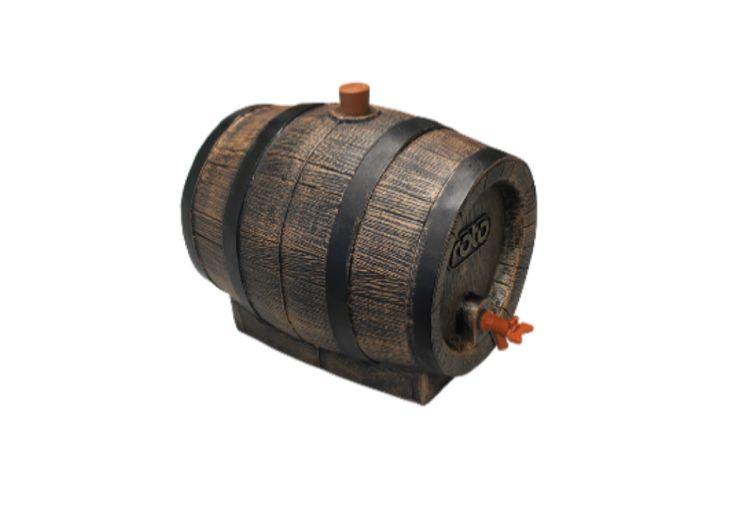 Tonneau à Vin Cuve de Stockage en Polyéthylène 13 L Roto
