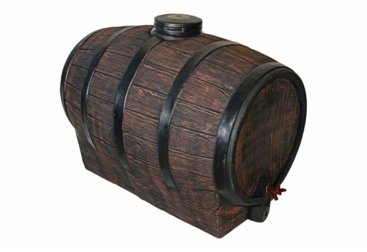 Tonneau à Vin Cuve de Stockage en Polyéthylène 500 L Roto