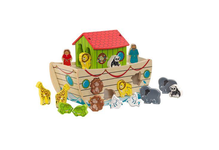 Trieur de formes pour enfants arche de Noé