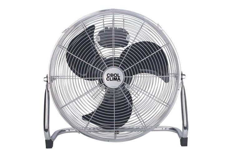 ventilateur de table en métal 3 pales