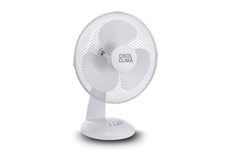 Ventilateur de table 40 W 3 vitesses Cool Clima