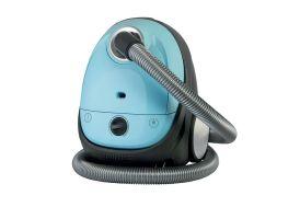 aspirateur traineau bleu pour petits espaces 70 W rangement facile