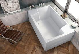baignoire rectangulaire Nabucco 190 x 120 cm Kolpa salle de bain