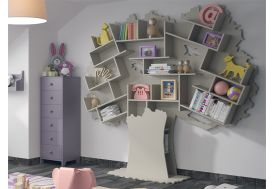 Bibliothèque Arbre en Bois Mathy by Bols Tess dans Chambre