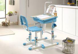 Bureau Enfant en Métal, Plastique et Bois Comfortline 301 Bleu