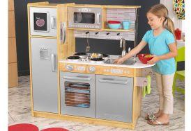 cuisine en bois jouet pour enfants couleurs naturels wood