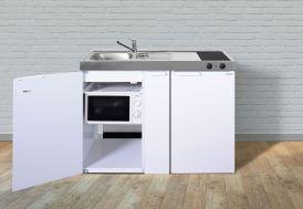 meuble kitchenette blanc en métal 1,20 m de large