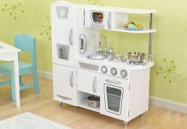 Cuisine pour Enfants Vintage Blanche