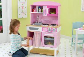Cuisine pour Enfants Familiale Rose