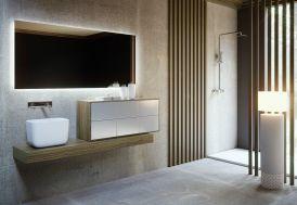 Ensemble de meubles de salle de bain en céramique
