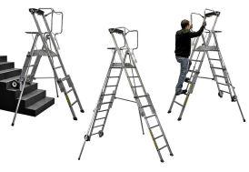Plate-Forme Professionnelle de Travail Télescopique