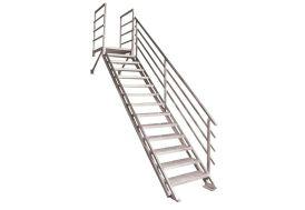 Escalier Droit en Alu Altis