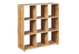 étagère de rangement en bois 9 cases séparateur de pièce