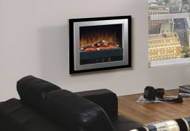 foyer électrique et décoratif avec flamme opti-flame dimplex Bizet