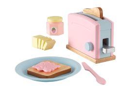 Kit de dinette grille-pain pour enfants en MDF