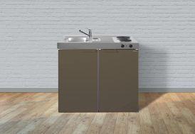 cuisinette pour studio en métal marron