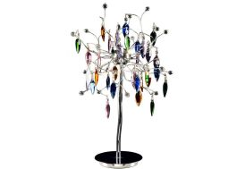 Lampe de Table Design en Cristal Picass (3 coloris)