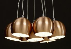 Lampe Suspendue en Métal Kokoon Design Skal
