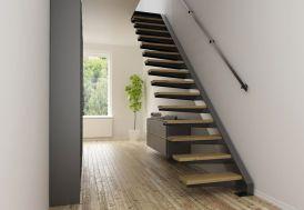 Limon Latéral Sydney pour Escalier Suspendu en Acier < 280 cm